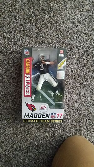 Carson palmer ultimate team series action figure for Sale in Mesa, AZ