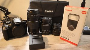 CANON rebel T6 kit! for Sale in Kent, WA