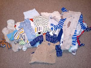 0 to 3 month baby boy lot for Sale in US