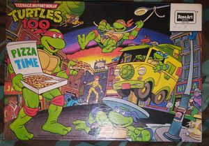 Teenage mutant ninja turtles 100 piece puzzle for Sale in Concord, NC