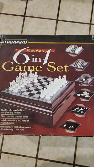Chess, Checkers, Cribbage, Backgammon for Sale in Phoenix, AZ