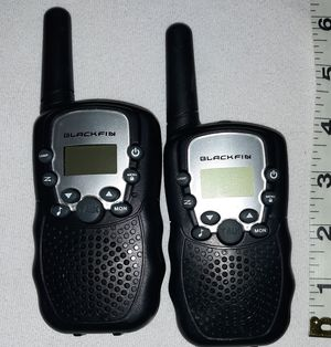 Blackfin Walkie Talkies $5 pu in Franklin used once No holds for Sale in Franklin, IN