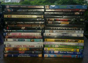 35 dvds dvd movie lot $25obo for Sale in Pompano Beach, FL