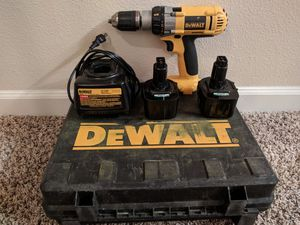 DEWALT DW980K-2 12 Volt XRP 1/2-Inch Heavy Duty Adjustable Clutch Cordless Drill/Driver Kit for Sale in Woodinville, WA