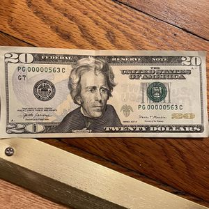 Unique Bills Rare Serial Numbers for Sale in Lock Haven, PA