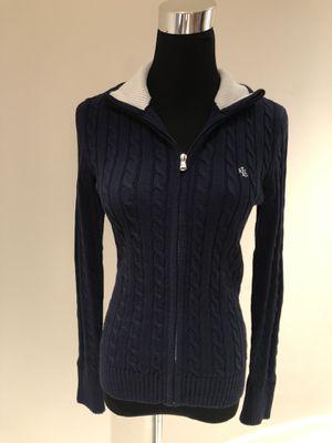 Ralph Lauren Women Navy Blue Cardigan Sweater Jacket-NWOT Size S for Sale in Queens, NY