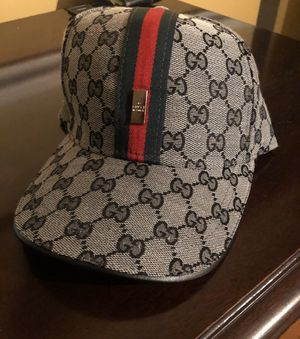 Unisex Grey G monogram Hat ! Excellent! No trades ! Serious buyers only for Sale in Silver Spring, MD