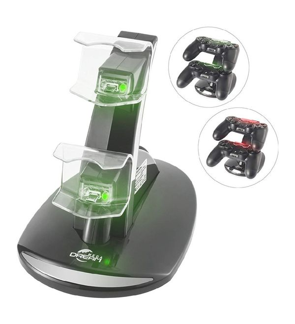 PS4 Controller Charger, Megadream Playstation 4 Charging Station for Sony PS4
