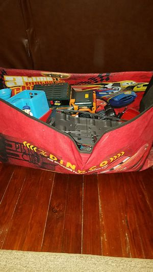 Cars Toy Box full of Boys kids toys for Sale in Tampa, FL