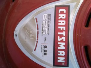 Craftsman lawn mower with bag for Sale in Manteca, CA