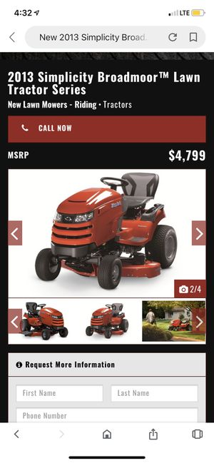 """Simplicity 26 hp 50"""" riding garden lawnmower NEED TO BE GONE BY OCTOBER 25th for Sale in Katy, TX"""
