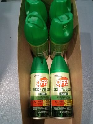Off insect repellent DRY for Sale in Dania Beach, FL