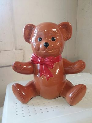 Teddy bear piggy bank for Sale in NO HUNTINGDON, PA