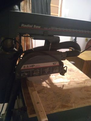 Craftsman Radial arm saw $60 for Sale in Fenton, MO