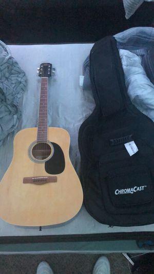 Acoustic guitar with case for Sale in Phoenix, AZ