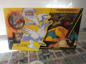 POKEMON RESHIRAM & CHARIZARD GX FIGURE COLLECTION BIG BOX BRAND NEW & SEALED!!! for Sale in Pomona, CA