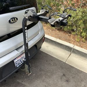 Yakima 2 Bike Rack For 1 1/4 Inch Square Trailer Hitch $80 for Sale in San Diego, CA