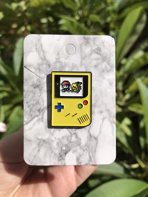 Vintage Yellow Gameboy Color Ash & Pikachu Pokemon Pin for Sale in Orange, CA