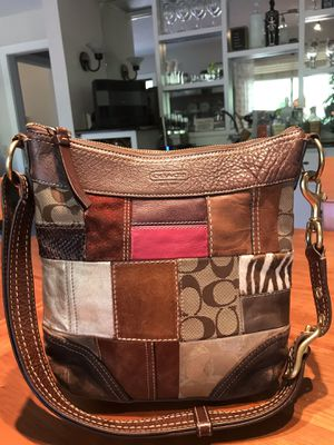 Coach Leather Patchwork Messenger Bag for Sale in Charlotte, NC