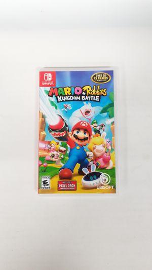 Nintendo Switch Mario + Rabbids Kingdom Battle (779709-17) for Sale in Tacoma, WA