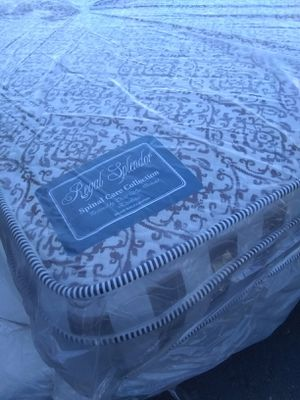Twin size bed and box spring free deliver for Sale in Phoenix, AZ