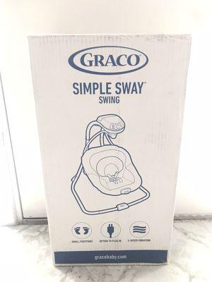 Graco Simple Sway Swing for Newborns/Infants for Sale in Philadelphia, PA