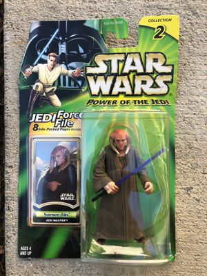 Star Wars Power Of The Jedi Saesee Tin Action Figure | Collection 2 for Sale in Los Angeles, CA