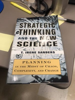Strategic thinking and the new science for Sale in San Jose, CA