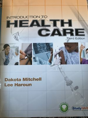 Introduction to Health Care third edition. for Sale in Howell Township, NJ