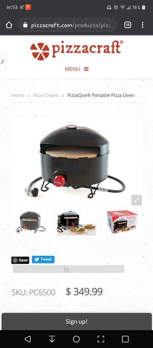 PizzaQue Portable Outdoor Pizza Oven w/ stone for Sale in Azalea Park, FL