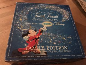 Disney Trivial Pursuit Family Edition for Sale in Ashburn, VA