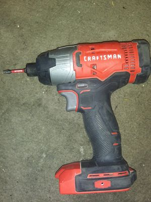 Craftsman 20v impact and drill for Sale in Indianapolis, IN