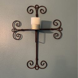 Iron Cross Candleholder for Sale in Vancouver,  WA