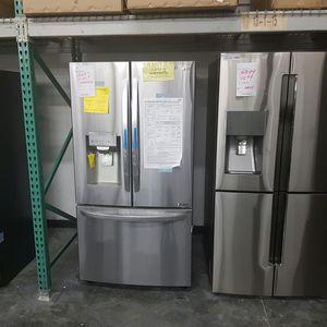 New LG WIFI Stainless Steel Refrigerator Smart for Sale in Chino Hills, CA