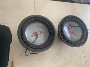 Alpine Type R 12 Inch 2250 Watt Max 4 Ohm Round Car Audio Subwoofer | R-W12D4 for Sale in Kissimmee, FL