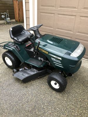 Craftsman riding lawnmower for Sale in Sumner, WA