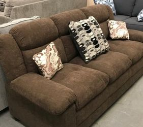 ♦️New ⭐Instock ⚡SPECIAL] Monet Chocolate Sofa & Loveseat | U2400 by Global 👁️‍🗨️🗨️🗨️ for Sale in College Park,  MD