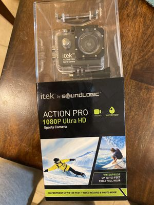 itek by soundlogic action pro camera for Sale in Brewer, ME
