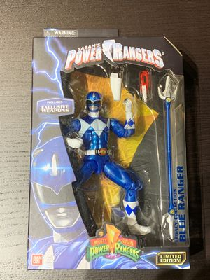 Mighty Morphin Power Rangers Legacy Blue Ranger Action Figure - New for Sale in San Diego, CA