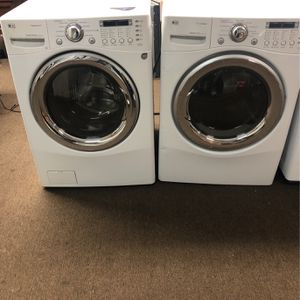 Lg Washer And Electric Dryer Set for Sale in South Houston, TX