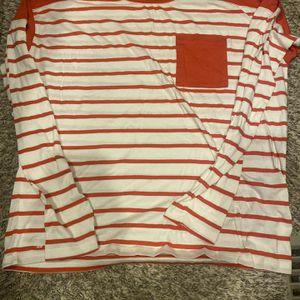 Ralph Lauren Red & White Striped Shirt for Sale in KS, US