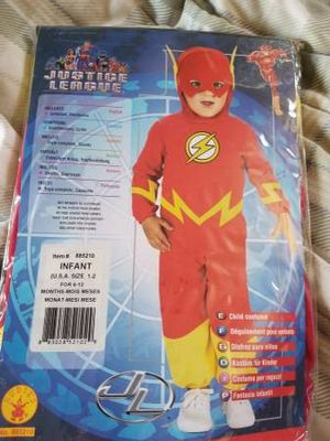NEW infant toddler The Flash costume for Sale in Lakeside, CA