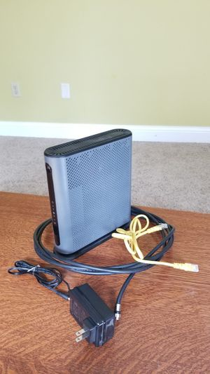 Motorola MG7550 cable modem plus AC1900 WiFi Gigabit Router for Sale in Fishers, IN