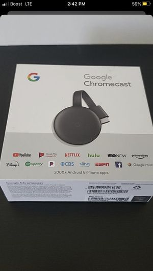 Google 💢Chromecast 💢 for Sale in Santee, CA