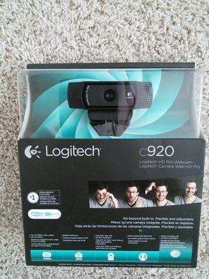 Webcam Logitech C920 for Sale in Sammamish, WA