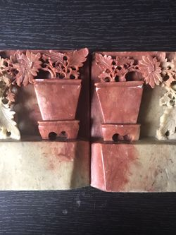 Chinese Soapstone Bookends for Sale in Spanish Flat,  CA