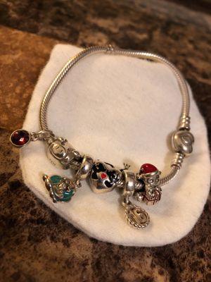 Pandora bracelet w/ 6 charms for Sale in White Hall, AR