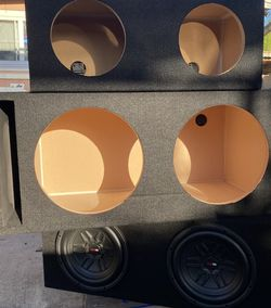"""Car Audio Sub Boxes 12"""" 10"""" 8"""" and more... for Sale in Bell Gardens,  CA"""