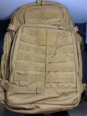 5.11 Rush 72 backpack (dark earth/coyote) for Sale in St. Petersburg, FL