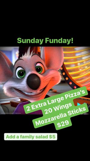 Chuck E Cheese in Vista Ca Sunday Fun Day Deal for Sale in Oceanside, CA